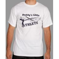 T-Shirt - Blanc Daddy's Little Angel
