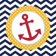 Napkins-LN-Ahoy Matey-18pkg-2ply - Discontinued