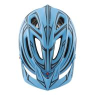 Troy Lee A2 Helmet MD/LG (Blue / Red) Pinstripe MIPS TLD