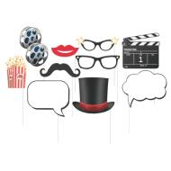 Photo Props-Hollywood Movie Night-10pkg