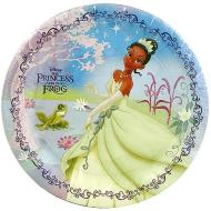 Plates-LN-The Princess and Frog-8pk-Paper (Discontinued)