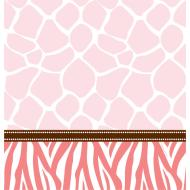 Tablecover-Rectangle-Wild Safari Pink-Plastic - Discontinued