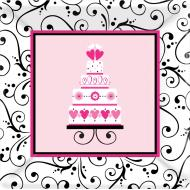 Plates-DP-Sweet Wedding-18pk-Paper (Discontinued)