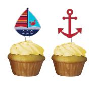 Cake Toppers-Ahoy Matey-12pkg