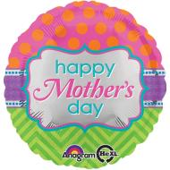 Foil Balloon - Bright Happy Mother's Day - 18""