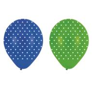 Latex Balloons-Mr. Turtle Dots-6pkg-12""