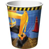 Paper Cups-Under Construction-8pkg-9oz