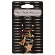 Wine Glass Charms-Assorted-4pkg