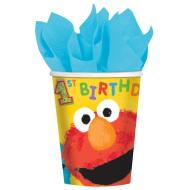 Cups-Sesame St-Paper-9oz-18pk - Discontinued