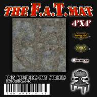 F.A.T. Mat: Iron Kingdoms City Streets 4x4'