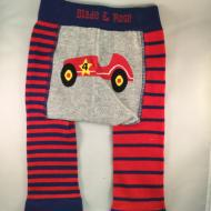 Classic Car Legging Red Blue