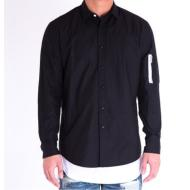 MA-1 Button Up/Black
