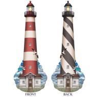 Jointed Cutout-Nautical Lighthouse-1pkg-5ft