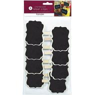 Label Clips-Chalkboard-8pk