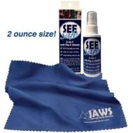 SEESafe 2-in-1 Antifog & Cleaner w/ Cloth