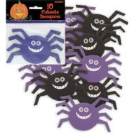 Cutouts-Assorted Spiders-10pkg