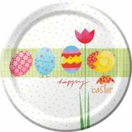 Plates-LN-Easter-Hatching Chicks-8pkg-Paper