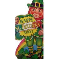 Cutout-Happy St. Patrick's Day-1pkg