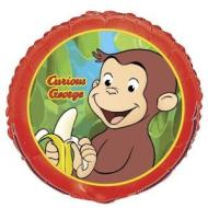Foil Balloon - Curious George - 18""