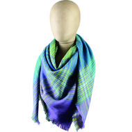 Fraas Juicy Plaid Scarf
