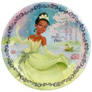 Plates-BEV-The Princess and Frog-8pk-Paper (Discontinued)
