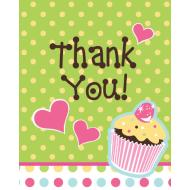 Thank You Cards-Sweet Treats-8pkg
