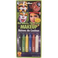 Costume Accessory-Assorted Crayon Makeup-6pkg-13g