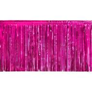 Garland-Fringe-Metallic-Purple-20' x 15''