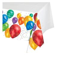 Tablecover-Rectangle-Balloon Blast-Plastic - Discontinued