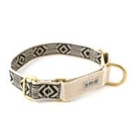 SSS - 1 in. Martingale Collar, Out of My Box, Black/Cream - Large