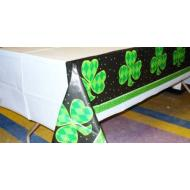Tablecover-Rectangle-Shamrock Dots-Plastic