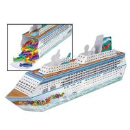 Centerpiece-Fillable-Cruise Ship-1pkg-13.25""