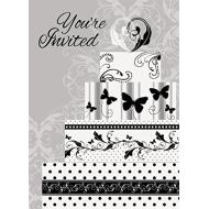 Invitations-Victorian Wedding-8pk
