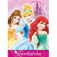 Invitations-Disney Princess-8pk