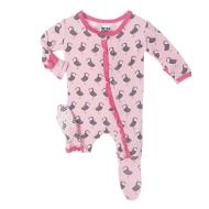 Lotus Puffin Ruffle Footie