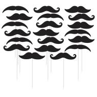 Picks- Moustache- 20pk