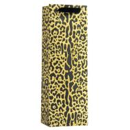 Cheetah Glitz Tote Bag-Bottle