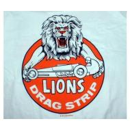 Lions Drag Strip T-Shirt - White