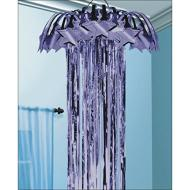 Danglers-Foil Shimmer Column- Purple-7ft