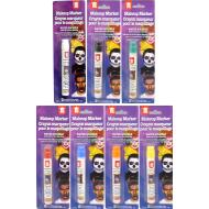 Costume Accessory-Assorted Makeup Marker-1pkg