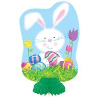 Honeycomb Centerpiece- Easter Bunny- 3pk/8""