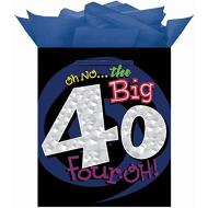 Gift bag-Medium-Oh No 40th