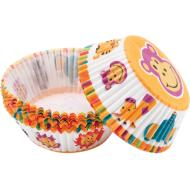 Baking Cups-Jungle Pals-75pkg-2""