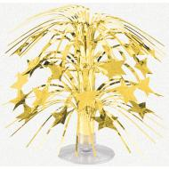 Centerpiece-Gold Stars-Foil-8.5''
