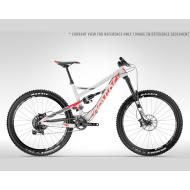 Devinci Spartan RS Large (Silv/Red/Black)