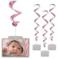 Danglers-Plastic Pocket-Pink-3pkg-3.4ft