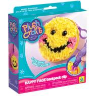 PlushCraft Happy Face Backpack Clip