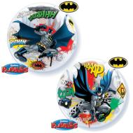 Plastic Bubble Balloon-Batman-1pkg-22""
