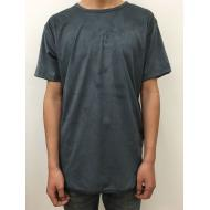 Suede Long Tee/Navy