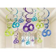Dangler-Swirl-60th HBD-30pk